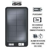 Notre produit du mois : Chargeur Solaire Freeloader ISIS